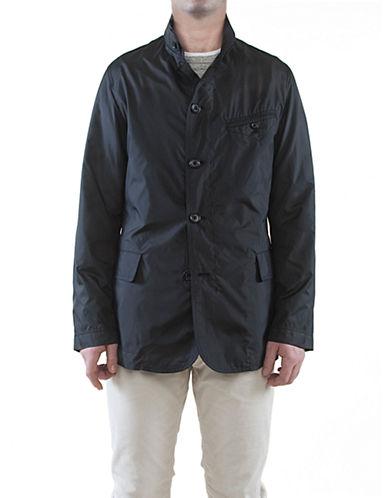Sanyo Hendrix Travel Jacket-BLACK-X-Large