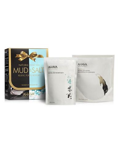 Ahava Natural Mud and Salt Gift Set-NO COLOUR-One Size