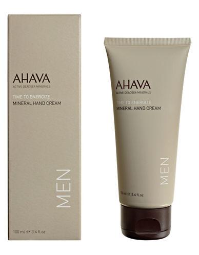 Ahava Mens Mineral Hand Cream-NO COLOUR-100 ml