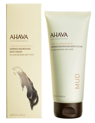 Ahava Dermud Nourishing Body Cream-NO COLOUR-200 ml