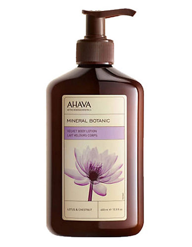 Ahava Mineral Botanic Body Lotion Lotus Flower And Chestnut-NO COLOR-One Size