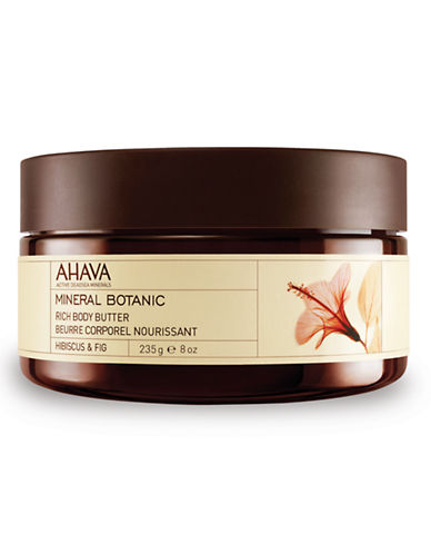 Ahava Mineral Botanic Body Butter - Hibiscus and Fig-NO COLOUR-10 ml