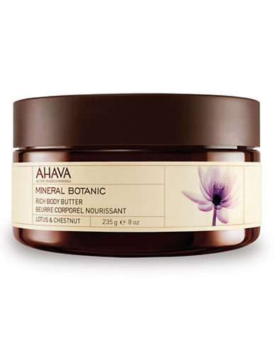 Ahava Mineral Botanic Body Butter - Lotus and Chestnut-NO COLOUR-10 ml