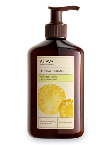 Ahava Mineral Botanic Body Lotion - Pineapple and Peach-NO COLOUR-400 ml