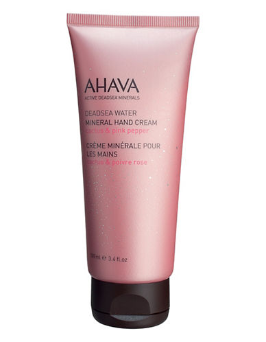 Ahava Mineral Hand Cream Cactus and Pink Pepper-NO COLOUR-100 ml