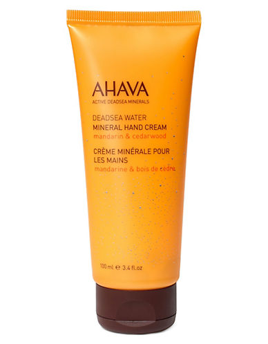 Ahava Mineral Hand  Cream - Mandarin and Cedarwood-NO COLOUR-100 ml