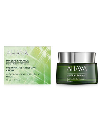 Ahava Mineral Radiance Overnight De-Stressing Cream-NO COLOUR-50 ml