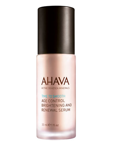 Image of Ahava Age Control Brightening And Renewal Serum-NO COLOUR-30 ml