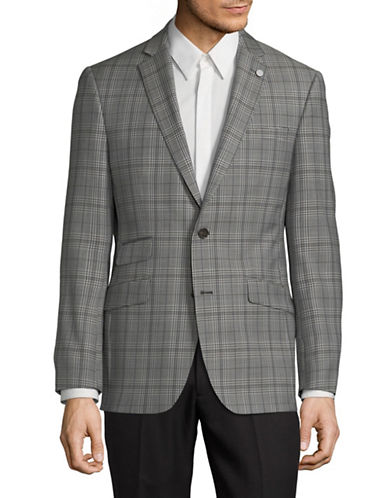 Ted Baker No Ordinary Joe No Ordinary Joe Wool Blazer-GREY-36 Regular