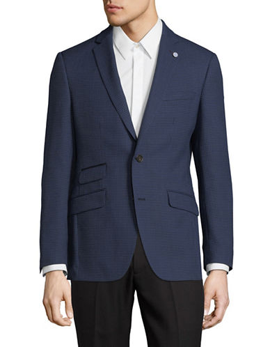 Ted Baker No Ordinary Joe No Ordinary Joe Wool Blazer-NAVY-40 Tall