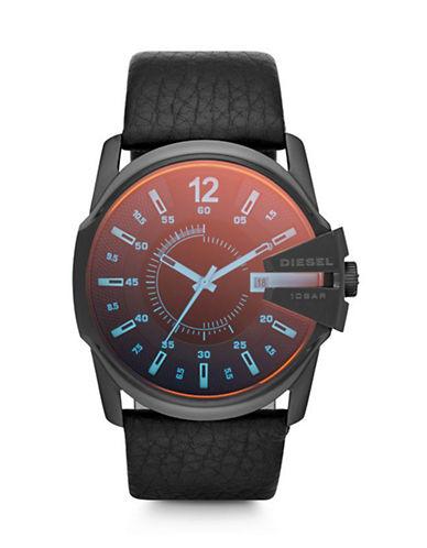 Diesel Mens Analog Master Chief Watch DZ1657-BLACK-One Size