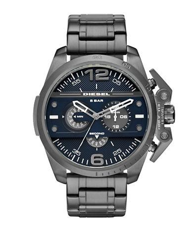 Diesel Ironside Stainless Steel Bracelet Watch-GUNMETAL-One Size