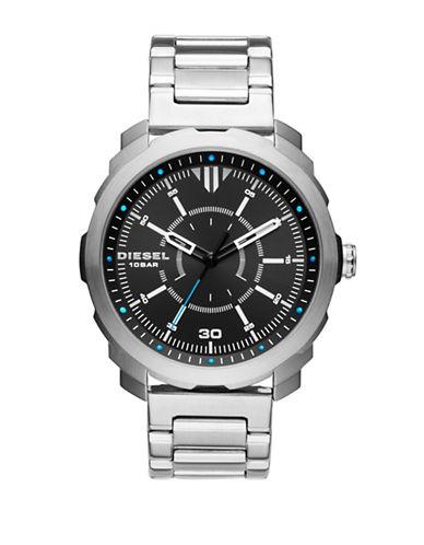 Diesel Analog Machinus NSBB Bracelet Watch-SILVER-One Size