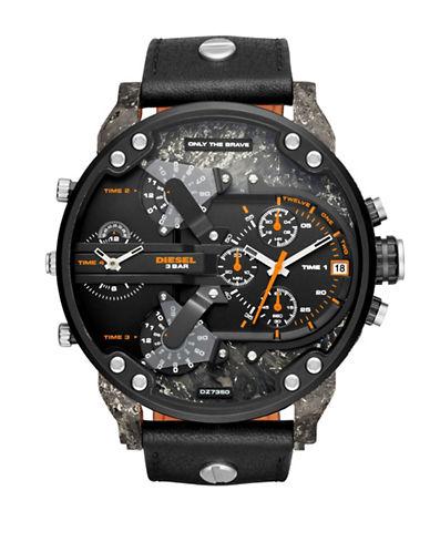 Diesel Mr Daddy 2.0 Chronograph Watch-BLACK-One Size
