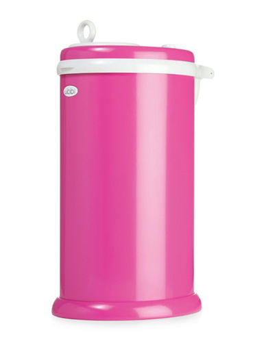 Ubbi Solid Diaper Pail-PINK-One Size
