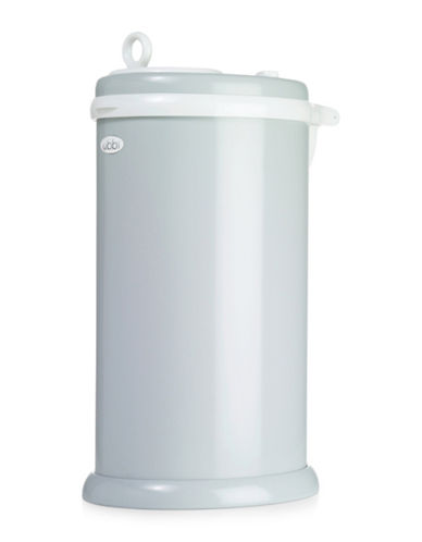 Ubbi Solid Diaper Pail-GREY-One Size