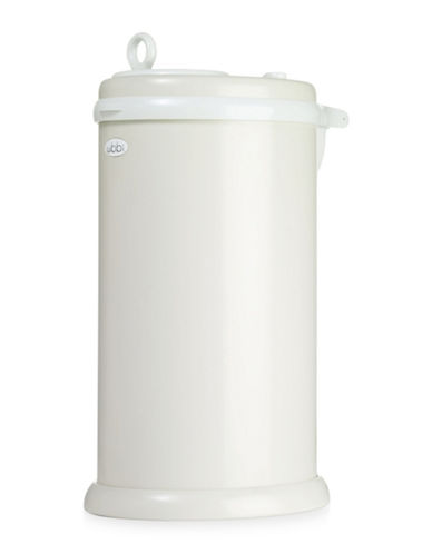 Ubbi Solid Diaper Pail-IVORY-One Size