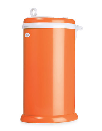 Ubbi Solid Diaper Pail-ORANGE-One Size