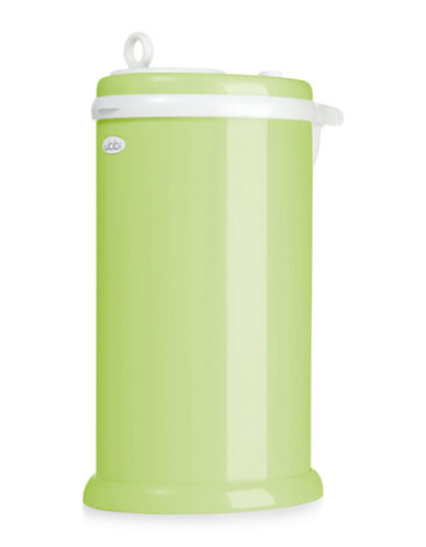 Ubbi Solid Diaper Pail-GREEN-One Size