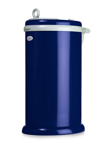 Ubbi Solid Diaper Pail-BLUE-One Size