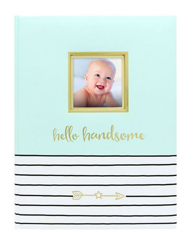 Pearhead Hello Handsome-Journal-MINT-One Size