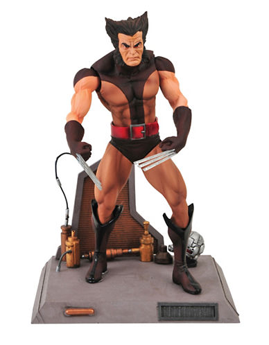 Marvel Select Unmasked Wolverine Action Figure-MULTI-One Size