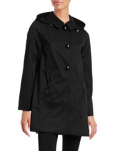 Kate Spade New York Bow Pocket A-Line Walker Coat-BLACK-Large 88431819_BLACK_Large