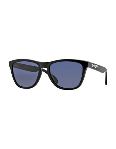 Oakley Frogskins Square Sunglasses-POLISH BLACK-One Size