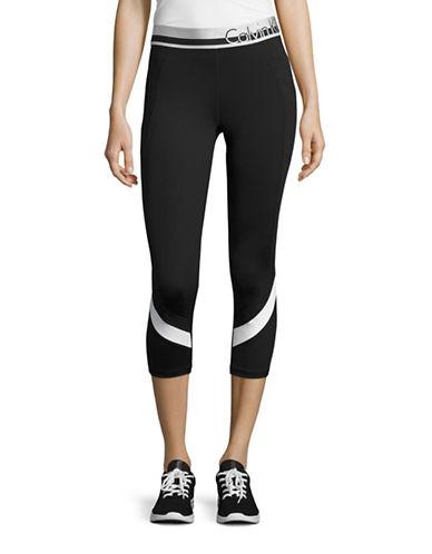 Calvin Klein Performance Logo Waist Performance Leggings-WHITE COMBO-Small 88822648_WHITE COMBO_Small