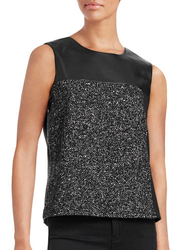 Calvin Klein Block Combo Top-BLACK-Small 88712614_BLACK_Small
