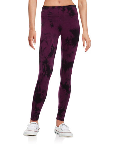 Calvin Klein Performance Performance Tie-Dyed Leggings-RED-Medium 88611884_RED_Medium