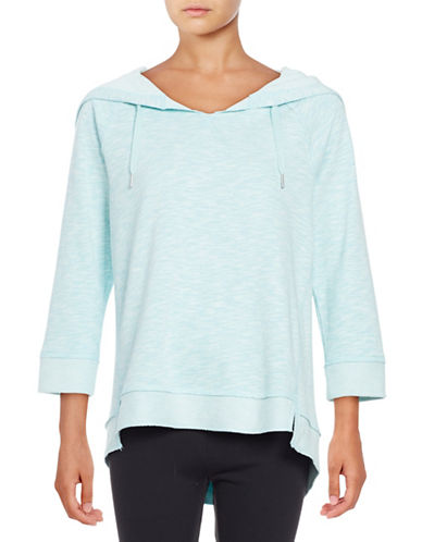 Calvin Klein Performance Heathered Active Hoodie-BLUE RADIANCE-X-Large 88987956_BLUE RADIANCE_X-Large