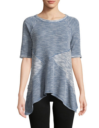 Calvin Klein Performance Flared Hem Pullover-BLUE-Large 89736190_BLUE_Large
