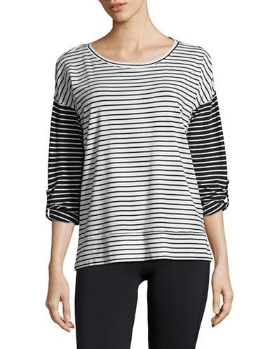 Calvin Klein Performance Striped Dolman Stretch T-Shirt 89983920