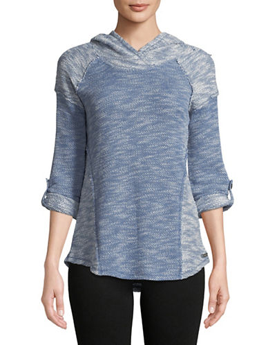 Calvin Klein Performance Flared Hem Pullover-BLUE-Medium 89736212_BLUE_Medium