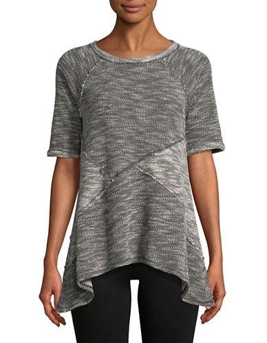 Calvin Klein Performance Flared Hem Pullover-BLACK-Small 89736176_BLACK_Small