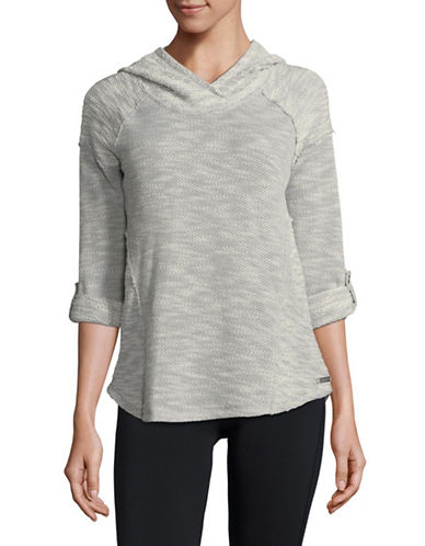 Calvin Klein Performance Flared Hem Pullover-STONE-X-Large 89736204_STONE_X-Large