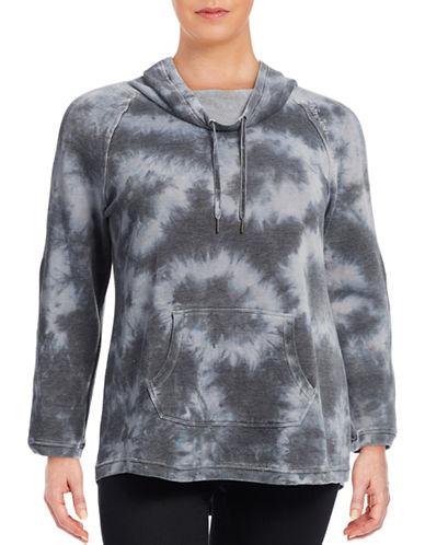 Calvin Klein Performance Plus Funnel Neck Performance Sweatshirt-BLACK-3X 88766994_BLACK_3X