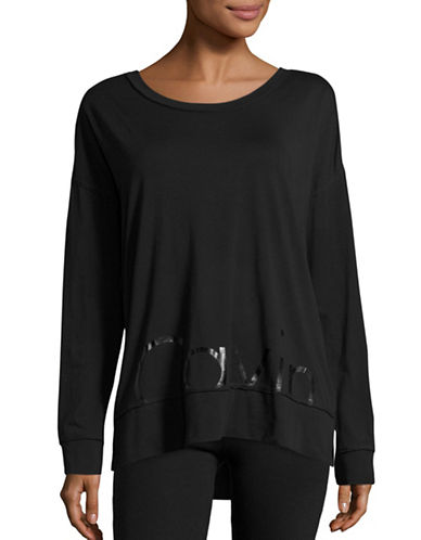 Calvin Klein Performance Long Sleeve Performance Top-BLACK-X-Large 88732327_BLACK_X-Large