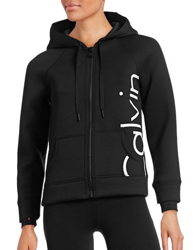 Calvin Klein Performance Quick-Dry Logo Scuba Hoodie-BLACK-Large 88732307_BLACK_Large