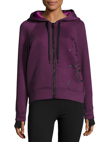 Calvin Klein Performance Quick-Dry Logo Scuba Hoodie-VIOLET-Small 88732313_VIOLET_Small