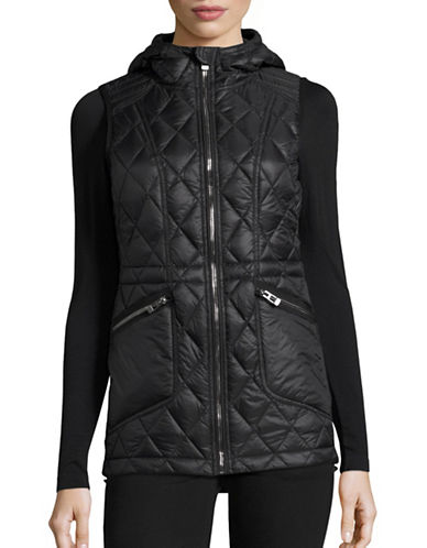 Calvin Klein Performance Glossy Quilted Down Vest-BLACK-Large 88732334_BLACK_Large