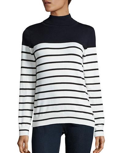 Calvin Klein Striped Turtleneck Pullover-BLUE MULTI-Large 88703938_BLUE MULTI_Large