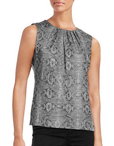 Calvin Klein Sleeveless Print Top-GREY-Small 88732442_GREY_Small
