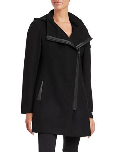 Calvin Klein Melton Jacket-BLACK-Medium 88531243_BLACK_Medium
