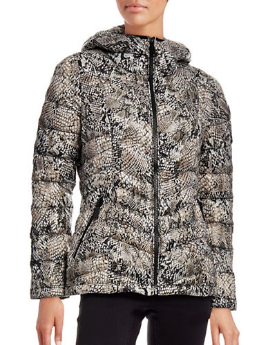 Calvin Klein The Coat Edit Packable Down Puffer Jacket-ANIMAL-Medium