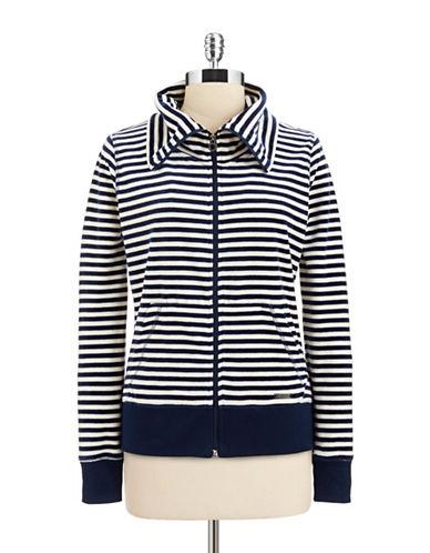 Calvin Klein Performance Narrow Stripe Zip Up-NAVY-Medium 86480905_NAVY_Medium