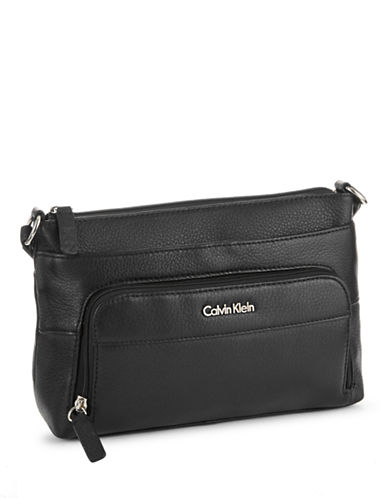Calvin Klein Key Item Crossbody-BLACK-One Size