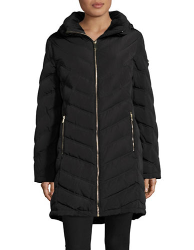 Calvin Klein Down-Filled Hooded Jacket-BLACK-X-Large 88988241_BLACK_X-Large