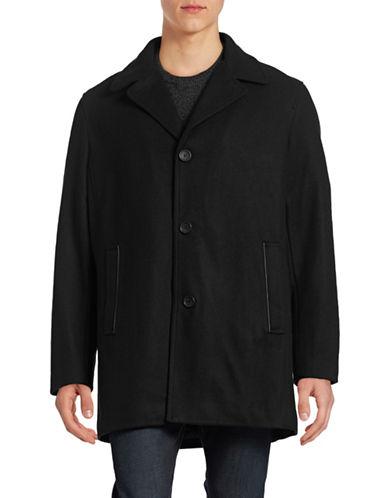 Calvin Klein Wool-Blend Car Coat-BLACK-X-Large 88387928_BLACK_X-Large